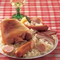Choucroute alsacienne garnie fraîche - plats cuisinés et accompagnements