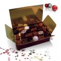 Luxueux ballotin de chocolats assortis 470g