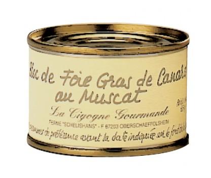 Bloc de foie gras de canard au Muscat d'Alsace