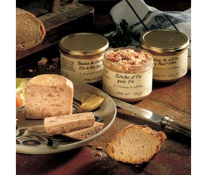 Terrine de volaille et foie gras (20% de foie gras de canard)